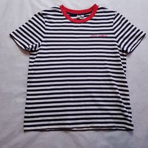 & Other Stories Contrast Stripe Amour Moderne Tee